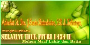 Selamat Idul Fitri 1 Syawal 1434 H.