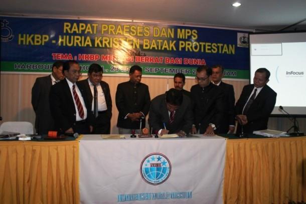 JEB - Rapat Majelis Pekerja Sinode (MPS) HKBP Berlangsung Di Batam