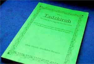 Buku Tadzkiroh karangan Abu Bakar Ba'asyir
